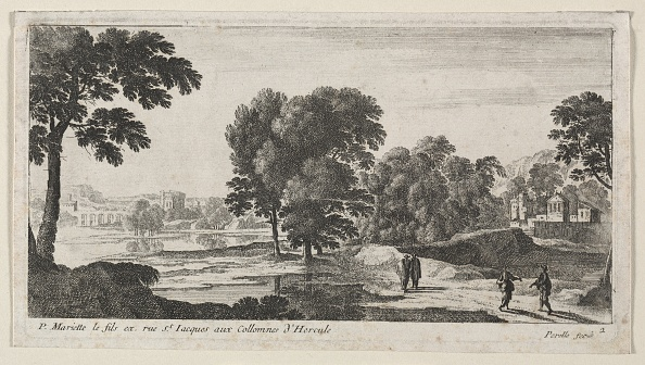 Etching「Landscape With Figures. Creator: Gabriel Perelle (French」:写真・画像(10)[壁紙.com]