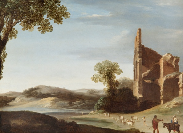 Netherlands「Landscape With Classical Ruins And Figures,」:写真・画像(14)[壁紙.com]
