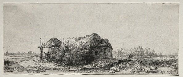 Rectangle「Landscape With A Cottage And Hay Barn: Oblong」:写真・画像(16)[壁紙.com]