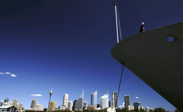 Urban Skyline「HMAS Parramatta Departs for Gulf Duty」:写真・画像(1)[壁紙.com]