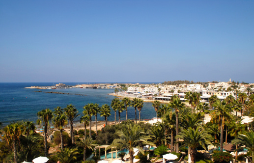 Republic Of Cyprus「Cyprus Paphos town and harbour」:スマホ壁紙(7)