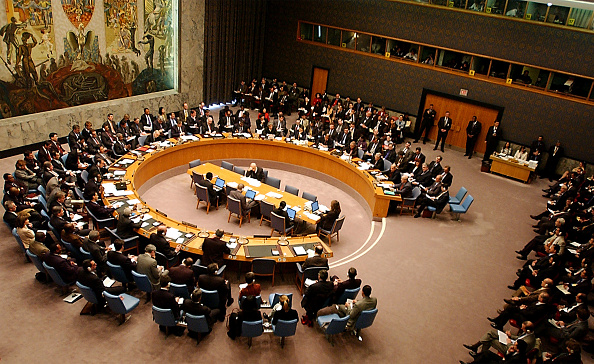 United Nations Building「Blix Reports To Security Council On Inspections」:写真・画像(13)[壁紙.com]