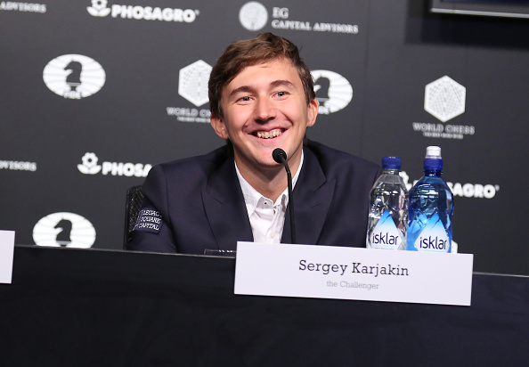 セルゲイ・カヤキン「2016 World Chess Championship - November 11」:写真・画像(0)[壁紙.com]
