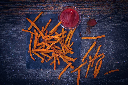 Pub Food「Sweet Potato Fries」:スマホ壁紙(2)