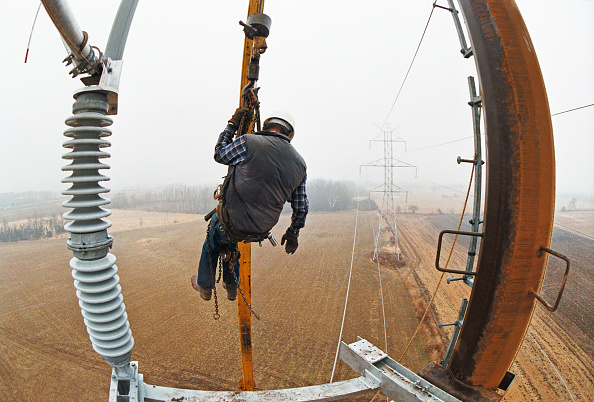 Cable「Power line maintenance, USA」:写真・画像(4)[壁紙.com]