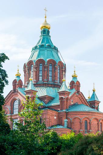 Finland「Finland, Helsinki, Uspenski Cathedral」:スマホ壁紙(4)