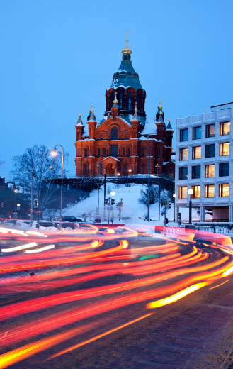 Finland「Finland, Helsinki, Uspenski Cathedral」:スマホ壁紙(19)