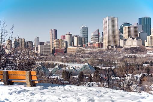 Edmonton「Winter Edmonton Scene」:スマホ壁紙(2)