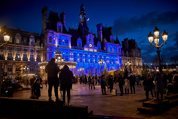 France「New Year's Eve In Paris During The Covid-19 Pandemic」:写真・画像(3)[壁紙.com]