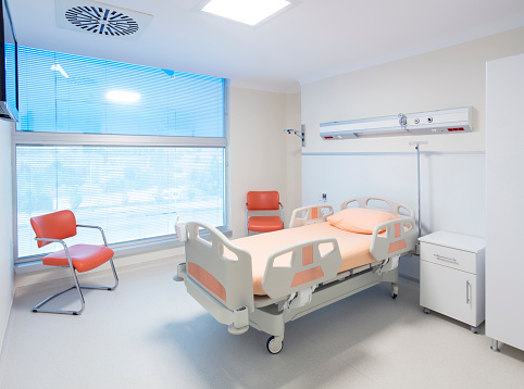 Portability「Hospital room with beds and comfortable medical equipped」:スマホ壁紙(13)