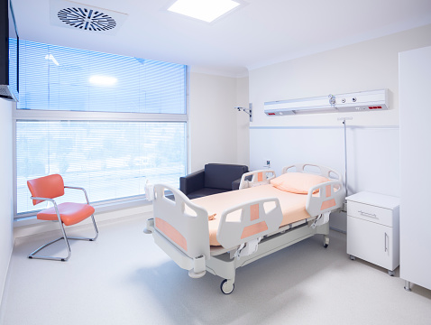 Portability「Hospital room with beds and comfortable medical equipped」:スマホ壁紙(3)