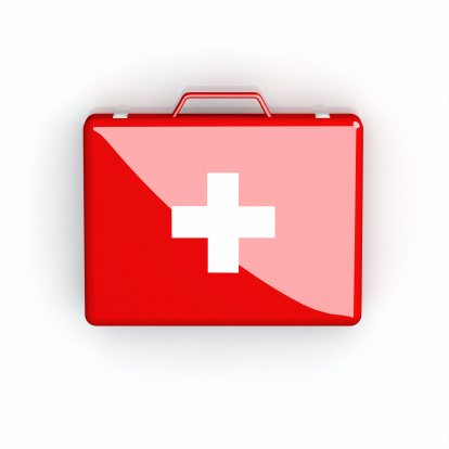 Plus Sign「Red First Aid case with white cross on white」:スマホ壁紙(15)