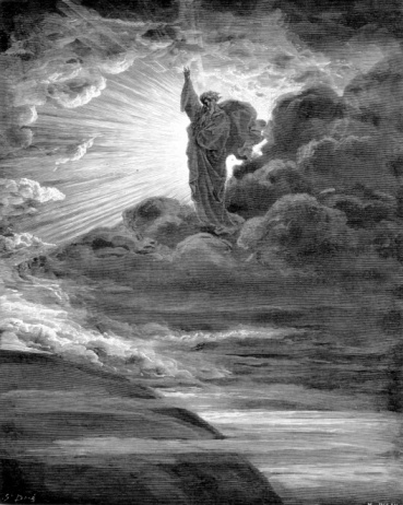 1866「Rendering depicting God creating light」:スマホ壁紙(7)