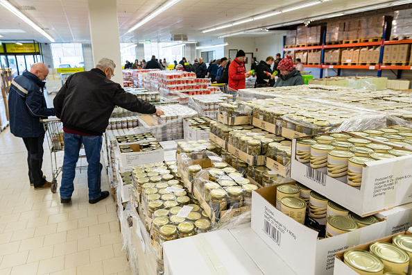Leipzig - Saxony「Russian Torgservis Opens First Store In Germany」:写真・画像(6)[壁紙.com]