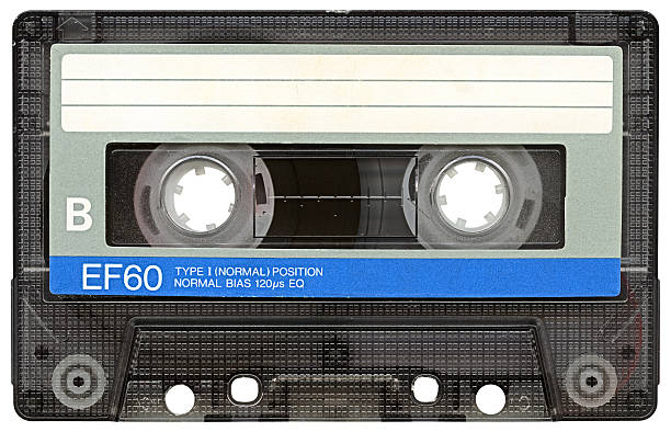 Hi-res Audio Cassette with clipping path on white background:スマホ壁紙(壁紙.com)