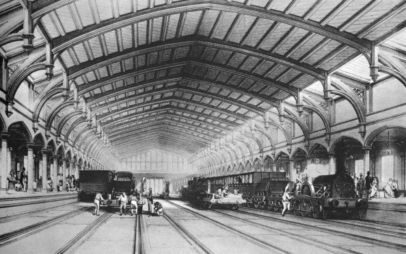 Heritage Images「Bristol Railway Station, 1840 - interior」:写真・画像(15)[壁紙.com]