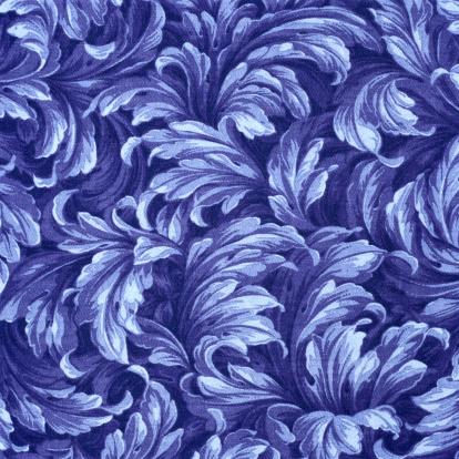 Floral Pattern「Blue Floral Pattern」:スマホ壁紙(1)