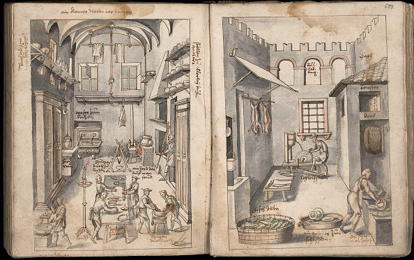 Kitchen「Cookbook Opera, 1570」:写真・画像(13)[壁紙.com]