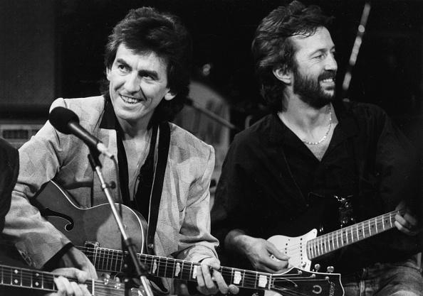 ジョージ・ハリスン「Eric Clapton And George Harrison」:写真・画像(17)[壁紙.com]