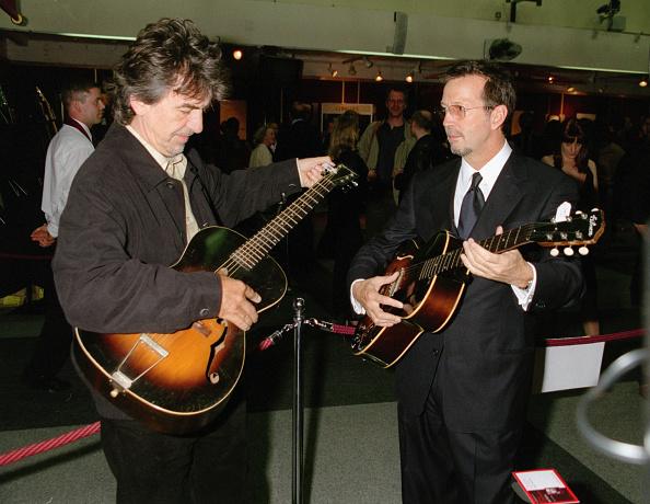 ギター「George Harrison And Eric Clapton」:写真・画像(18)[壁紙.com]