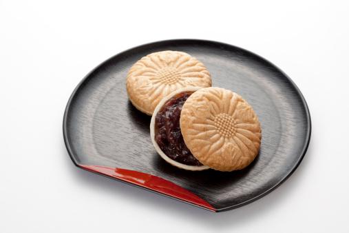 和菓子「Wafer cakes with?graid bean jam .」:スマホ壁紙(9)