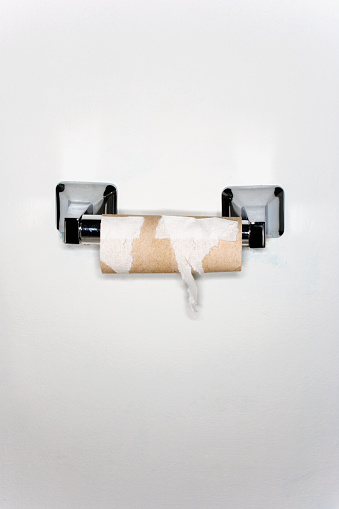 Toilet Paper「Finished Toilet Paper Roll」:スマホ壁紙(18)