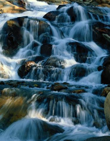 Roaring Fork River「USA, Colorado, Rocky Mountain National Park, Roaring River Falls」:スマホ壁紙(19)