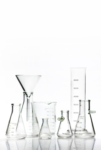 Chemical「Scientific equipment with copy space」:スマホ壁紙(1)