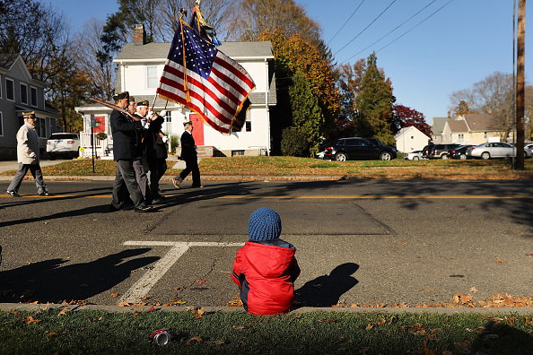 Patriotism「Veterans Day Parade  Honors Military Service In Milford, CT」:写真・画像(14)[壁紙.com]