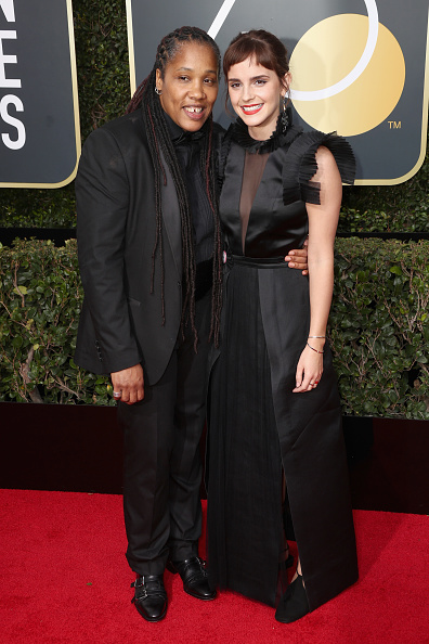 エマ・ワトソン「75th Annual Golden Globe Awards - Arrivals」:写真・画像(13)[壁紙.com]