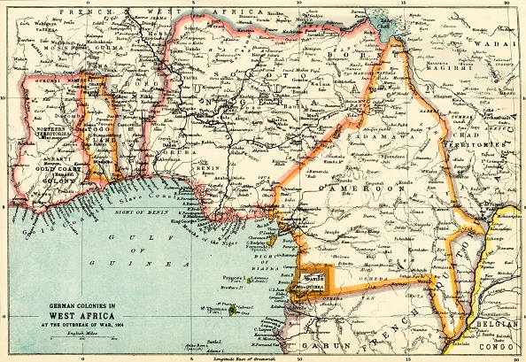 Colony - Territory「German Colonies In West Africa At The Outbreak Of War」:写真・画像(2)[壁紙.com]