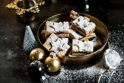 Cookie「Linzer cookies with mulled wine filling」:スマホ壁紙(2)