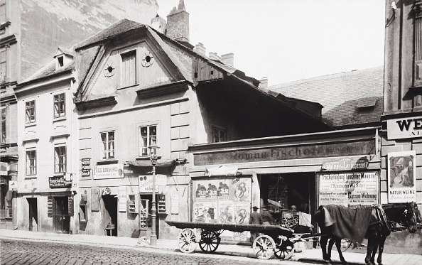 Footpath「Stadtgutgasse In Leopoldstadt. Vienna. Photograph. About 1895.」:写真・画像(6)[壁紙.com]