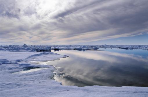 Arctic Ocean「Lead (open water) at North Pole, Arctic Ocean, summer」:スマホ壁紙(7)
