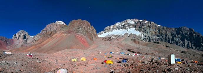 Mount Aconcagua「Plaza Argentina Base Camp, Aconcagua Provincial Park, Argentina」:スマホ壁紙(18)
