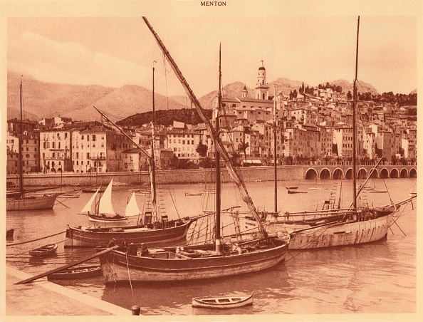 Sepia Toned「The Harbour And Old Town」:写真・画像(0)[壁紙.com]