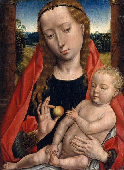 Virgin Mary「Virgin And Child. Creator: Unknown.」:写真・画像(3)[壁紙.com]