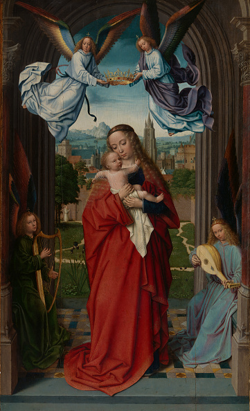 Angel「Virgin And Child With Four Angels」:写真・画像(6)[壁紙.com]