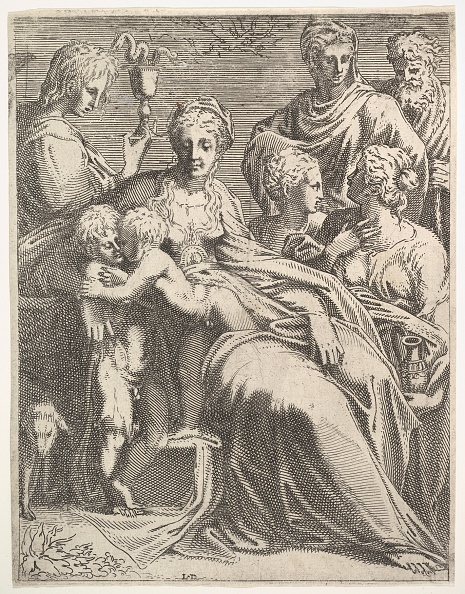 Etching「Virgin And Child With Saints」:写真・画像(19)[壁紙.com]