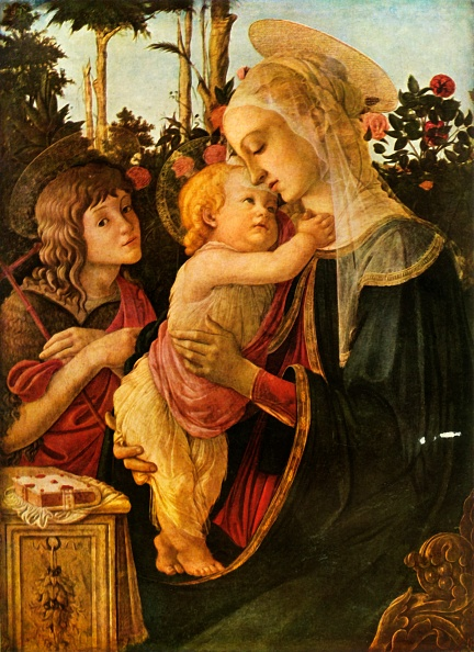Virgin Mary「Virgin And Child With Young St John The Baptist」:写真・画像(0)[壁紙.com]