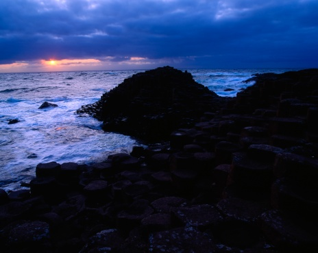 Basalt「Co Antrim, The Giants Causeway, Ireland」:スマホ壁紙(16)