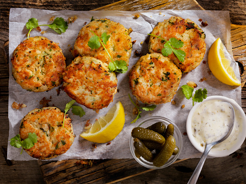 Cod「Crispy Golden Fish Cakes」:スマホ壁紙(16)
