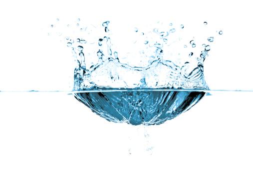 波「水の泡とウェイブズブルー」:スマホ壁紙(12)
