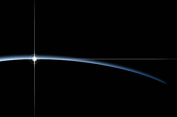 Light over horizon:スマホ壁紙(壁紙.com)