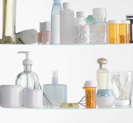 美容「Medicine cabinet shelves」:スマホ壁紙(10)
