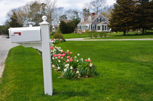 April「Cape Cod Rural Mailbox」:スマホ壁紙(12)