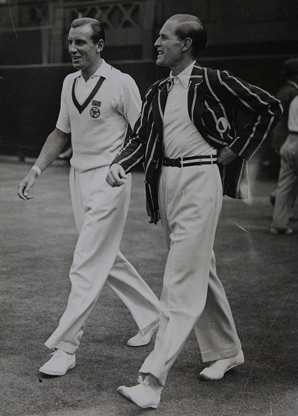 Fashion Designer「Tennis. The English Tennis Player Fred Perry And The German Tennis Player Gottfried Von Cramm At The Finiale. Wimbledon. London. 2Nd July 1936. Photograph.」:写真・画像(2)[壁紙.com]