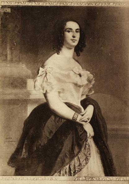 Wife「Madame Victor Hugo - wife of Victor Hugo, French poet, novelist and dramatist, circa 1830.」:写真・画像(17)[壁紙.com]