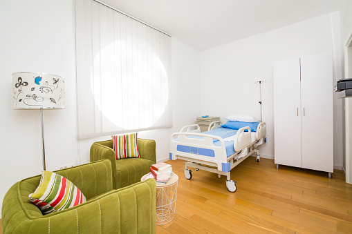 Healing「Patient beds in hospitals furniture interior decoration of service patient medical」:スマホ壁紙(17)