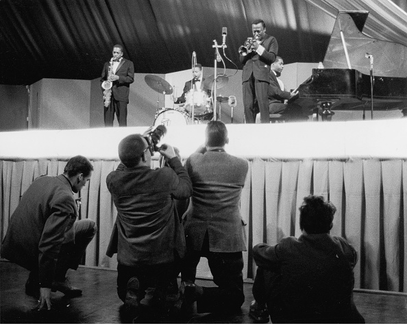 マイルス デイヴィス「Jazz Musician Miles Davis On A Jatp Concert (Jazz At The Philharmonic). 1960. Photograph.」:写真・画像(12)[壁紙.com]